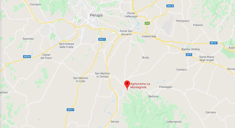 mappa-agriturismo-la-montagnola-torgiano